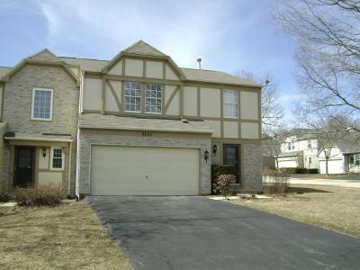 Hoffman Estates Condo/Townhouse For Sale: 4660 Burnham Drive