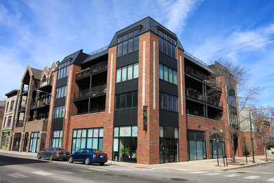 Chicago Condo/Townhouse New: 1600 North Bell Avenue #2A