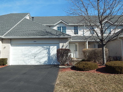 Tinley Park Condo/Townhouse Re-Activated: 8830 Bluebird Drive