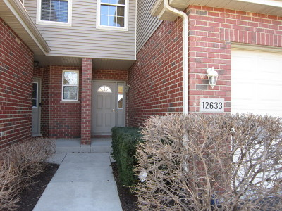 Homer Glen Condo/Townhouse For Sale: 12633 West Yorkshire Drive
