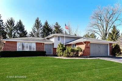 Willowbrook Single Family Home For Sale: 7700 Brookbank Road