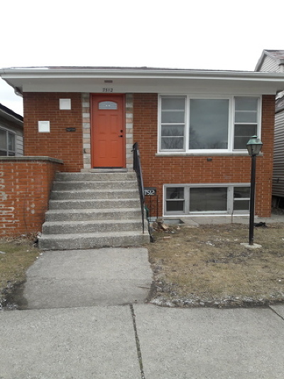 Summit Single Family Home For Sale: 7512 West 59th Street