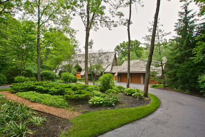 Libertyville Single Family Home For Sale: 28600 North Tanglewood Court