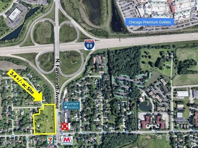 Aurora  Residential Lots & Land Contingent: 1826 North Farnsworth Avenue
