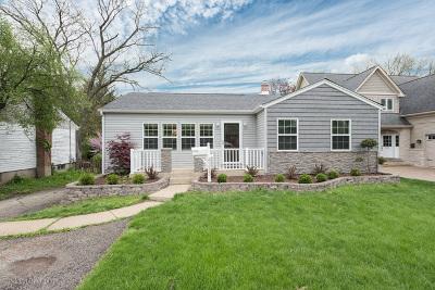 Downers Grove Single Family Home Price Change: 4233 Washington Street