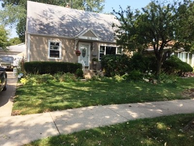 Mount Prospect Single Family Home For Sale: 406 West Walnut Street