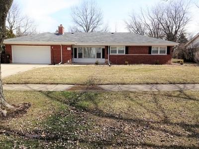 Flossmoor  Single Family Home For Sale: 845 Braemar Road