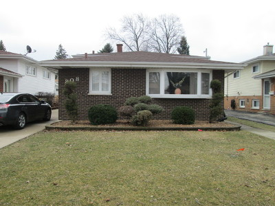 Maywood Single Family Home For Sale: 808 Augusta Street