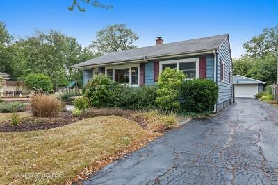 Clarendon Hills Single Family Home Price Change: 139 Ann Street
