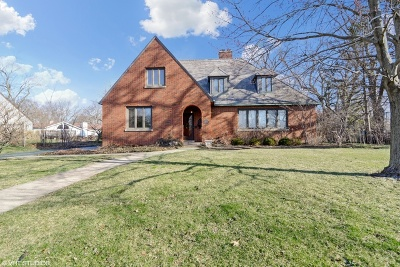 Flossmoor Single Family Home For Sale: 2149 Evans Road