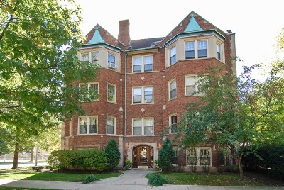 Oak Park Condo/Townhouse For Sale: 37 Washington Boulevard #2