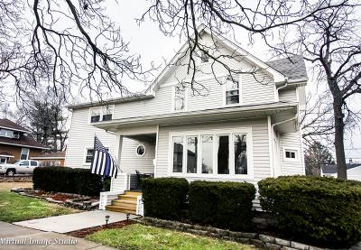 Lemont Single Family Home For Sale: 809 Warner Avenue