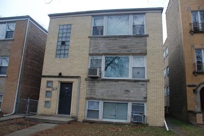 Multi Family Home For Sale: 6204 North Washtenaw Avenue