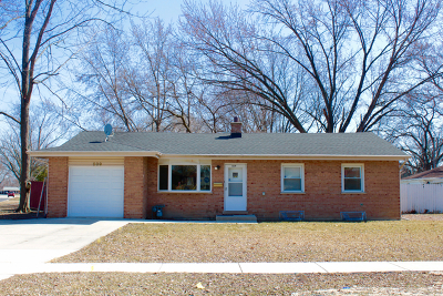Hoffman Estates Single Family Home Re-Activated: 509 Washington Boulevard