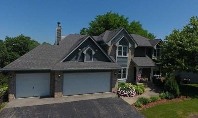 Rockford Single Family Home Price Change: 3619 Stubai Trail
