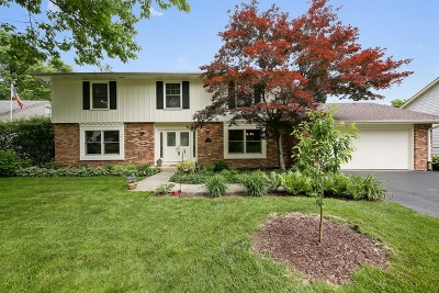 Downers Grove Single Family Home Price Change: 1410 Golden Bell Court