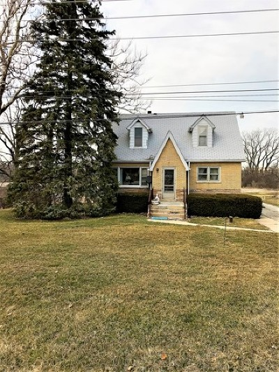 Orland Park Single Family Home Re-Activated: 9700 West 167th Street