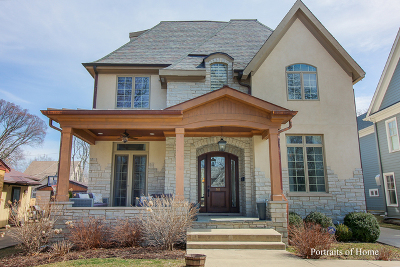 Hinsdale Single Family Home For Sale: 561 North Vine Street
