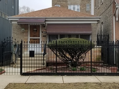 Single Family Home For Sale: 2925 North Troy Street