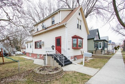 Blue Island  Single Family Home For Sale: 12950 California Avenue