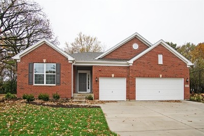 Hoffman Estates Single Family Home Price Change: 1721 White Spruce Drive