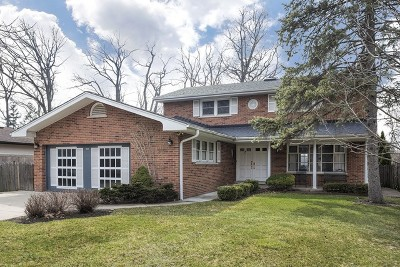 Wilmette Single Family Home For Sale: 929 Manor Drive
