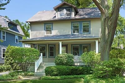 Wilmette Single Family Home For Sale: 1216 Elmwood Avenue