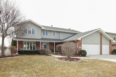 Tinley Park Single Family Home Contingent: 7935 Lakeside Drive