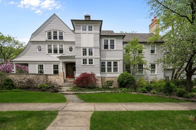 Hinsdale Single Family Home For Sale: 323 South Lincoln Street