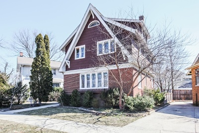 Wilmette Single Family Home For Sale: 344 Oak Circle