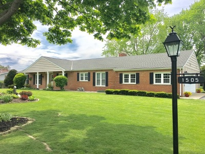 McHenry Single Family Home Re-Activated: 1505 Palamino Drive