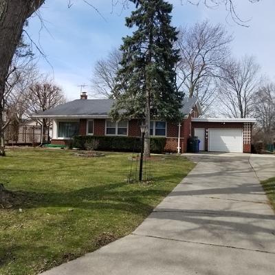 Palos Heights Single Family Home For Sale: 12548 South Massasoit Avenue