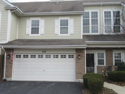 Carol Stream Condo/Townhouse For Sale: 618 Belmont Lane