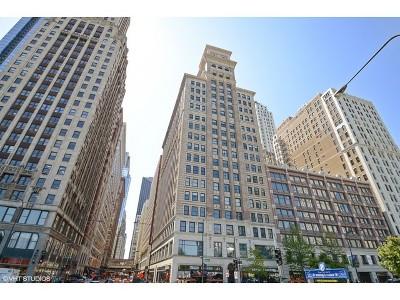 Condo/Townhouse For Sale: 6 North Michigan Avenue #1309