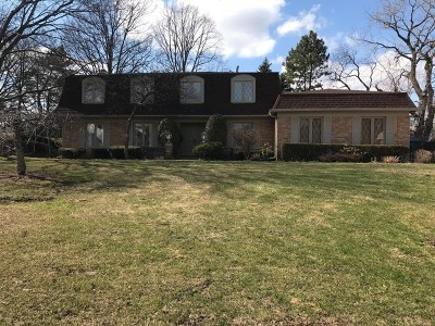 Oak Brook Single Family Home Price Change: 17 Ivy Lane