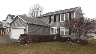 Fox Lake Single Family Home Price Change: 8318 Evergreen Court