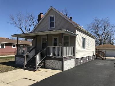 Steger Single Family Home For Sale: 3015 Morgan Street