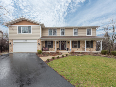 Downers Grove Single Family Home Price Change: 1450 Parrish Court