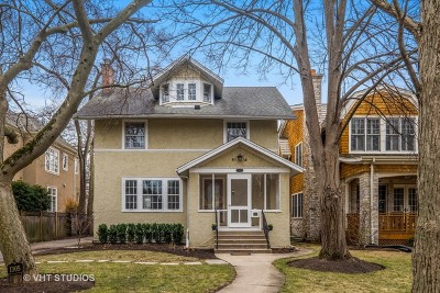 Wilmette Single Family Home For Sale: 1305 Greenwood Avenue