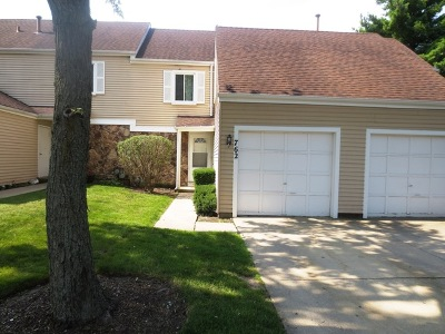 Hanover Park Condo/Townhouse For Sale: 762 Crescent Way
