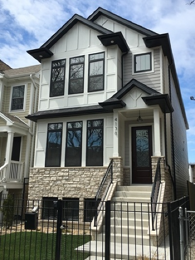 Chicago Single Family Home Re-Activated: 4138 North Mozart Street