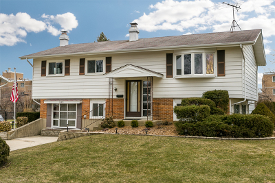 Hoffman Estates Single Family Home Contingent: 1405 Jefferson Road
