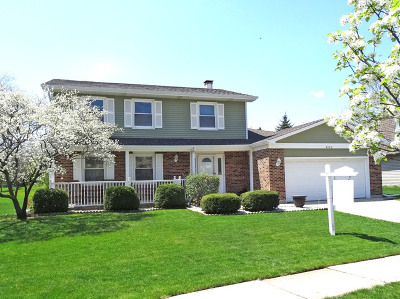 Hoffman Estates Single Family Home For Sale: 4122 Victoria Drive