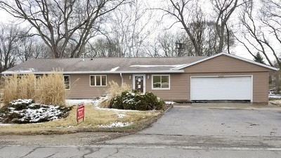 Johnsburg Single Family Home For Sale: 4322 North Johnsburg Road