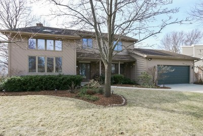 Libertyville Single Family Home For Sale: 1641 Cass Avenue