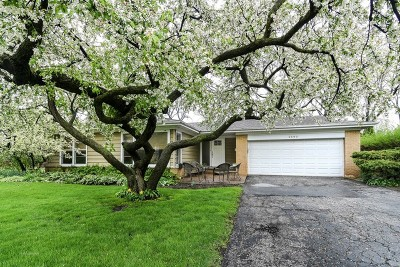 Northbrook Single Family Home For Sale: 2690 Appletree Lane