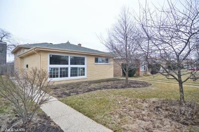 Single Family Home For Sale: 2817 West Morse Avenue