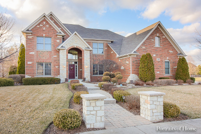 Bolingbrook Single Family Home Price Change: 1826 Pampas Circle