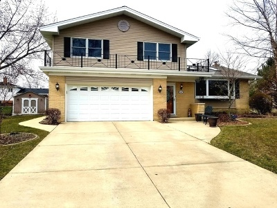 Schaumburg Single Family Home Re-Activated: 314 Summit Court