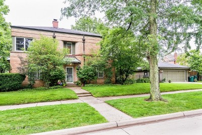 Wilmette Single Family Home For Sale: 2045 Greenwood Avenue